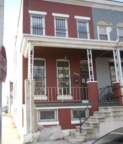 1700 Appleton St, Baltimore MD Foreclosure Property