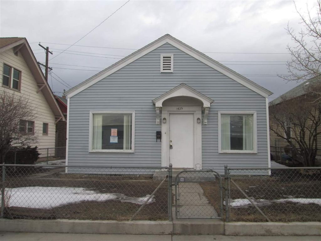 1725 Wall St, Butte MT Foreclosure Property