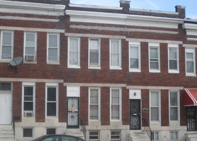 2714 Edmondson Ave, Baltimore MD Foreclosure Property