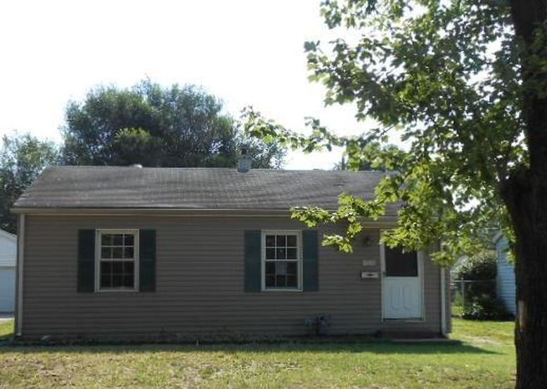 1516 S Boeke Rd, Evansville IN Foreclosure Property