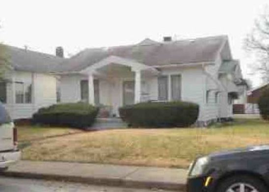 909 Taylor Ave, Evansville IN Foreclosure Property