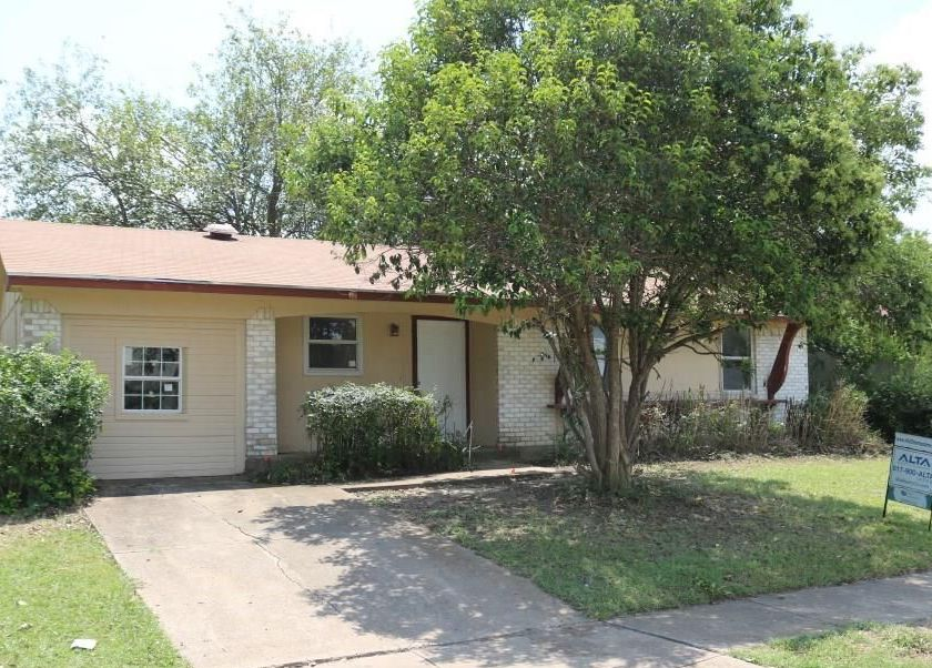 3410 Judge Dupree Dr, Dallas TX Foreclosure Property