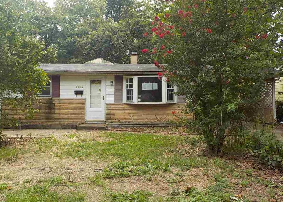 2718 S Ruston Ave, Evansville IN Foreclosure Property