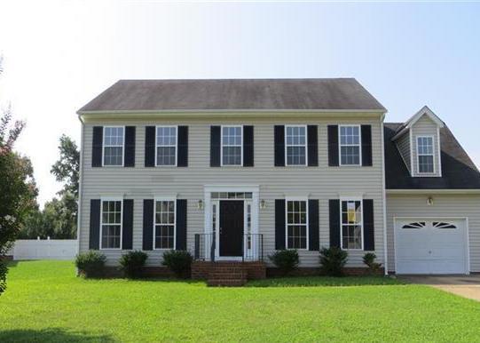 1334 Woodside Mews, Richmond VA Foreclosure Property