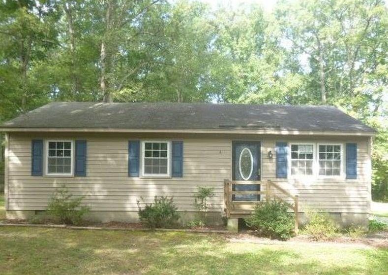6600 Poplar Spring Rd, Richmond VA Foreclosure Property