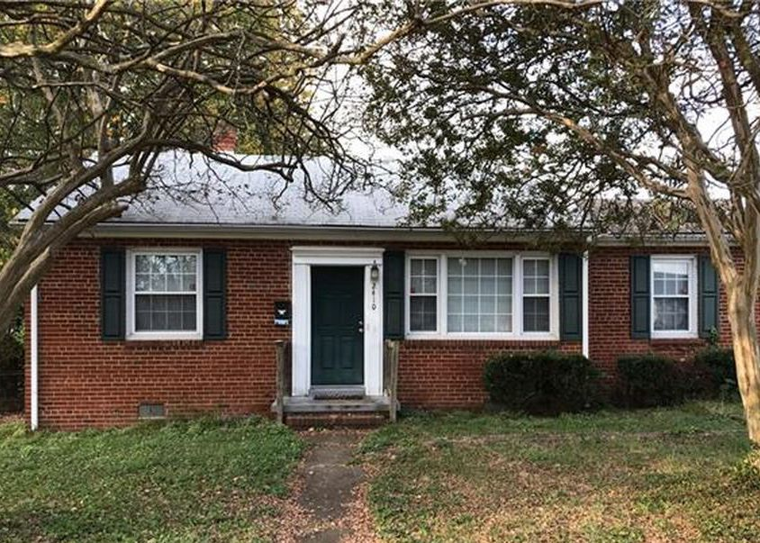 2410 Farrand St, Richmond VA Foreclosure Property