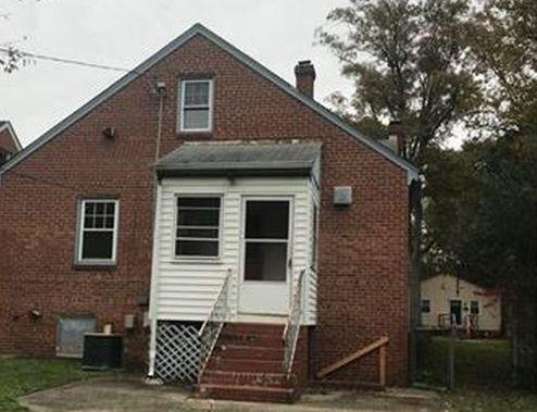 5217 Salem St, Richmond VA Foreclosure Property