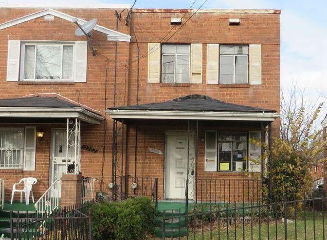2204 Irving St Se, Washington DC Foreclosure Property