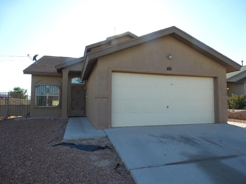 481 Goldshire Pl, El Paso TX Foreclosure Property