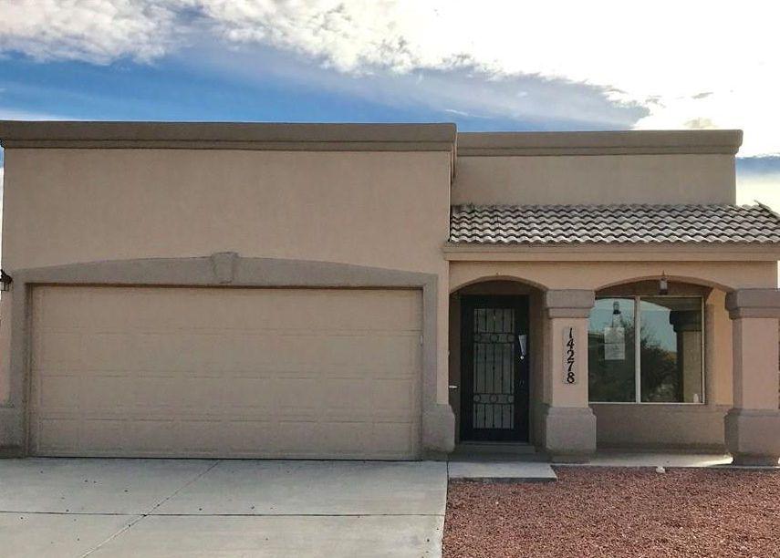 14278 Desert Cactus Dr, El Paso TX Foreclosure Property