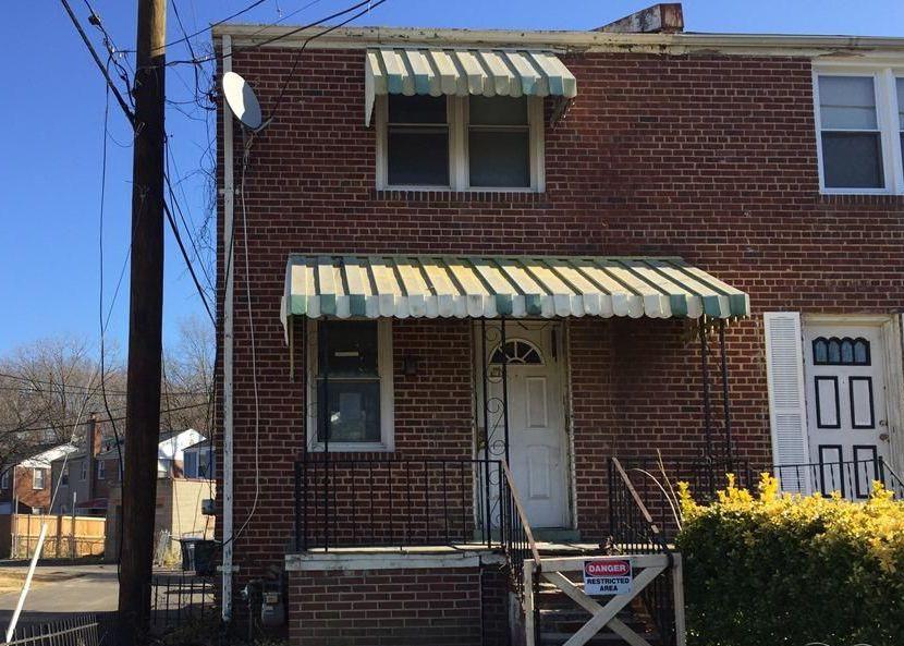 215 63rd St Ne, Washington DC Foreclosure Property