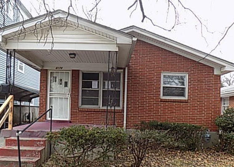 4178 Churchman Ave, Louisville KY Foreclosure Property