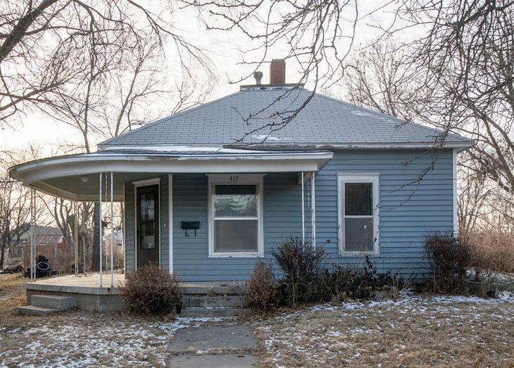 417 N Kansas Ave, Beloit KS Foreclosure Property