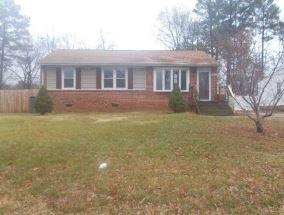 9723 Paragon Dr, Richmond VA Foreclosure Property