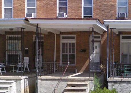 5313 Hamlin Ave, Baltimore MD Foreclosure Property