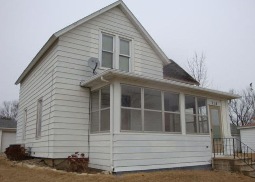 114 Bartlett St E, Wykoff MN Foreclosure Property