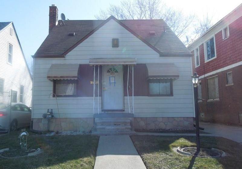 9574 Appoline St, Detroit MI Foreclosure Property