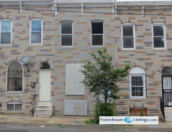 2614 Orleans St, Baltimore MD Foreclosure Property