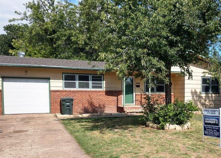 2318 Howell Ave, Dodge City KS Foreclosure Property