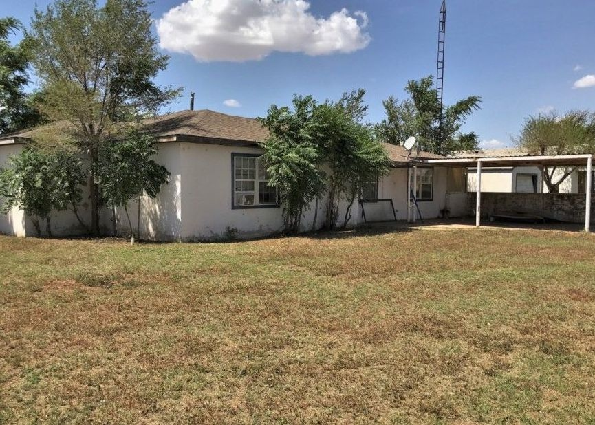 1255 S 10th St, Slaton TX Foreclosure Property