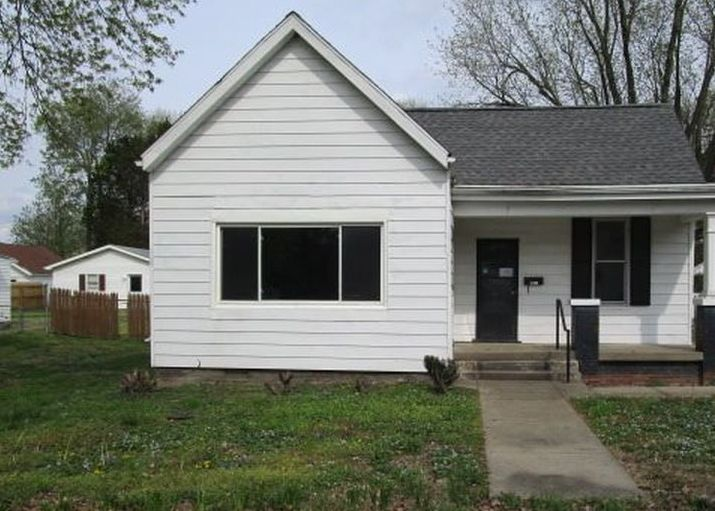 1822 Hollywood Ave, Evansville IN Foreclosure Property