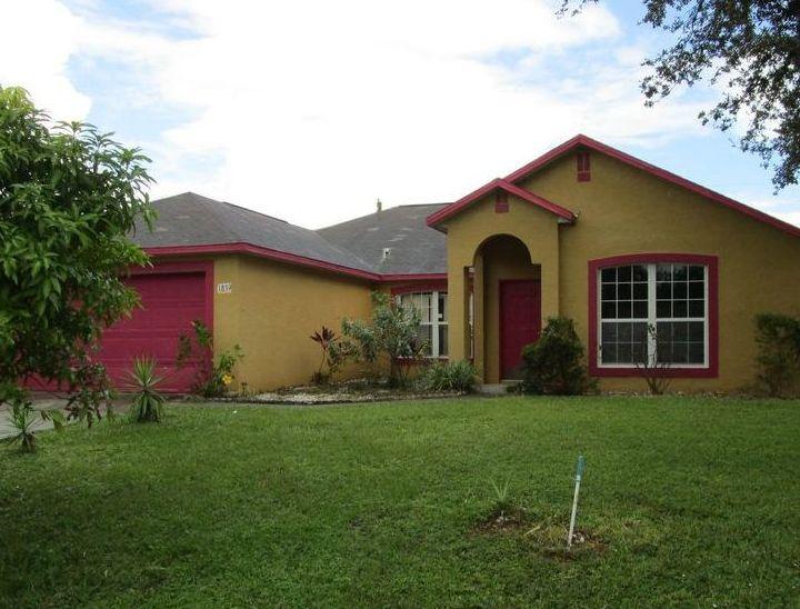1839 Edith St Ne, Palm Bay FL Foreclosure Property