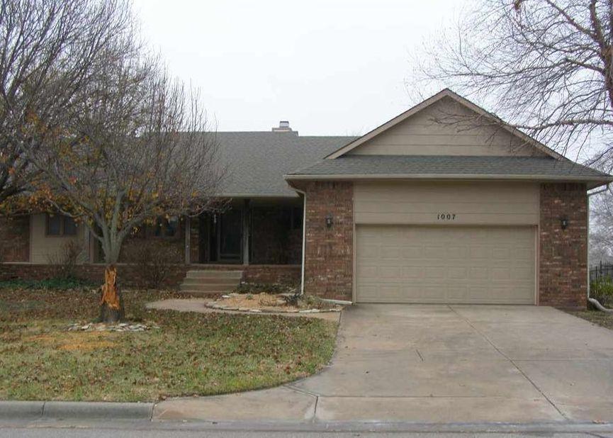 1007 Walnut Ct, Andover KS Foreclosure Property