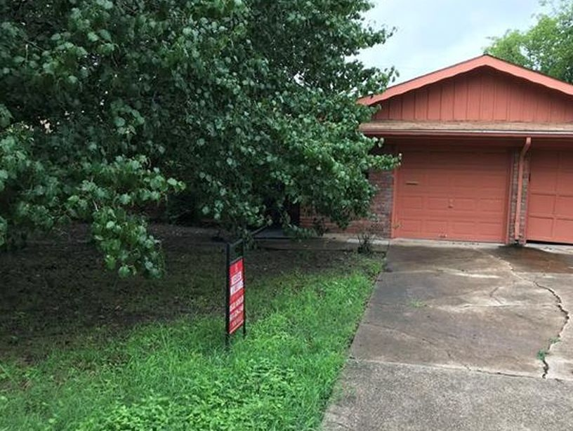 3543 Paramount St, Haltom City TX Foreclosure Property