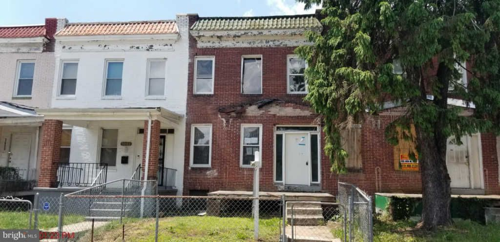 3604 Oakmont Ave, Baltimore MD Foreclosure Property