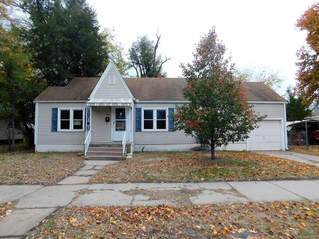 707 E 8th Ave, Hutchinson KS Foreclosure Property