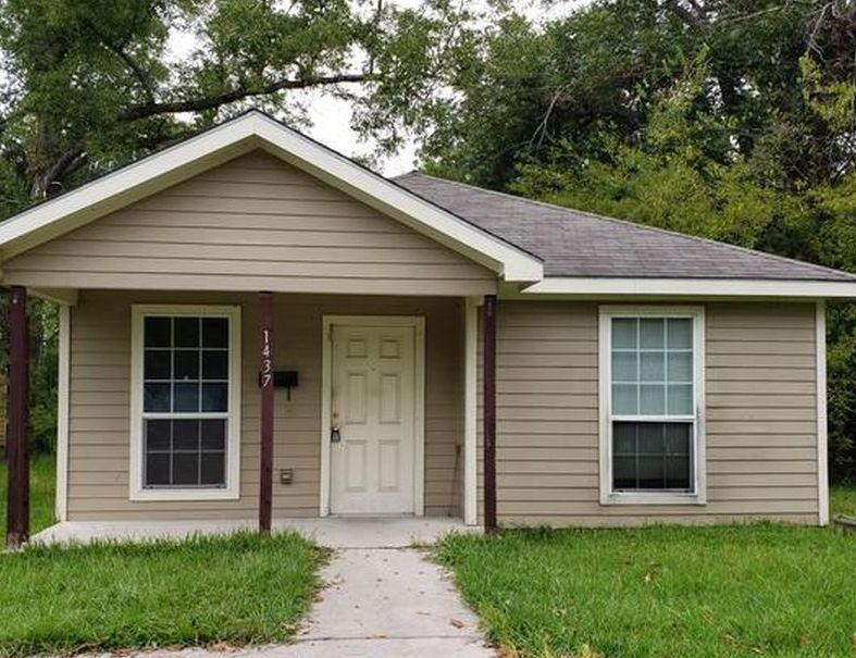 1437 Fulton St, Beaumont TX Foreclosure Property