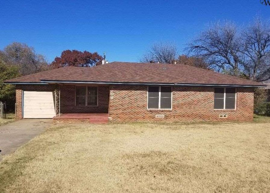 3202 Seymour Rd, Wichita Falls TX Foreclosure Property
