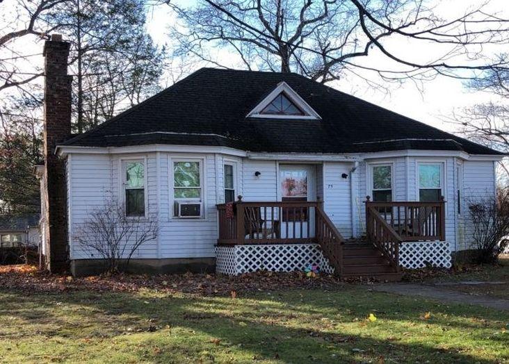 75 Cleveland St, Feeding Hills MA Foreclosure Property