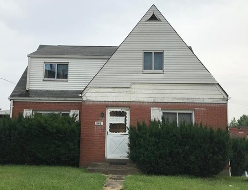 965 Josephine St, East Mc Keesport PA Foreclosure Property