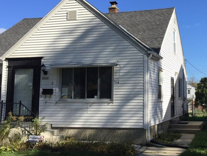 4540 N 58th St, Milwaukee WI Pre-foreclosure Property