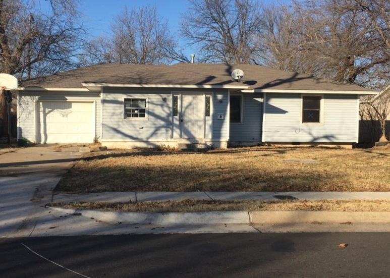 3023 Sw 40th St, Oklahoma City OK Pre-foreclosure Property