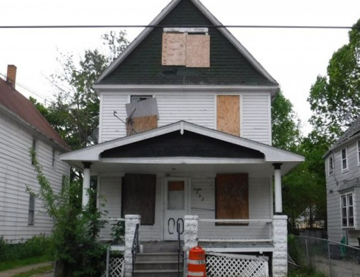 3292 W 54th St, Cleveland OH Pre-foreclosure Property