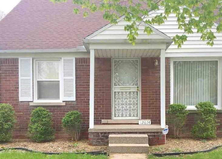 12674 Riad St, Detroit MI Pre-foreclosure Property