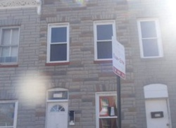 Ramsay St, Baltimore, MD Foreclosure Home