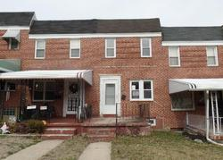 Windsor Ave, Baltimore, MD Foreclosure Home