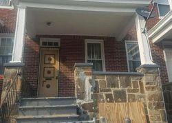 Dumbarton Ave, Baltimore, MD Foreclosure Home