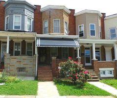 N Pulaski St, Baltimore, MD Foreclosure Home