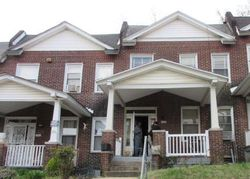 Baker St, Baltimore, MD Foreclosure Home