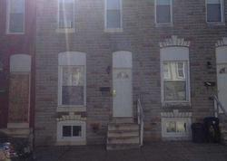 Francis St, Baltimore, MD Foreclosure Home