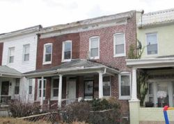 S Morley St, Baltimore, MD Foreclosure Home