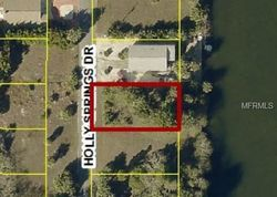 Holly Springs Dr, Spring Hill, FL Foreclosure Home