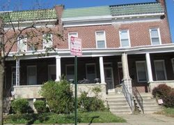 W Mosher St, Baltimore, MD Foreclosure Home