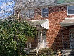 Towanda Ave, Baltimore, MD Foreclosure Home