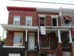 E Biddle St, Baltimore, MD Foreclosure Home